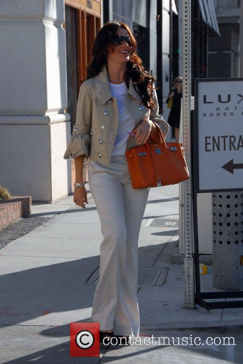 Out shopping in Beverly Hills