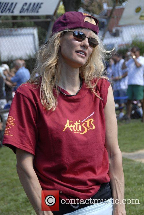 Lori Singer Artists and Writers annual Softball game...