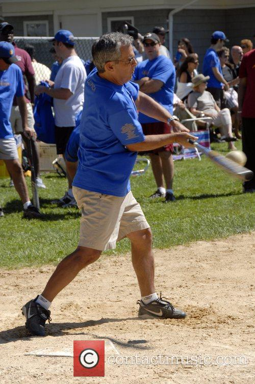 Mike Lupica Artists and Writers annual Softball game...