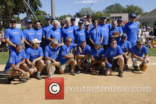 The Writers team Artists and Writers annual Softball...