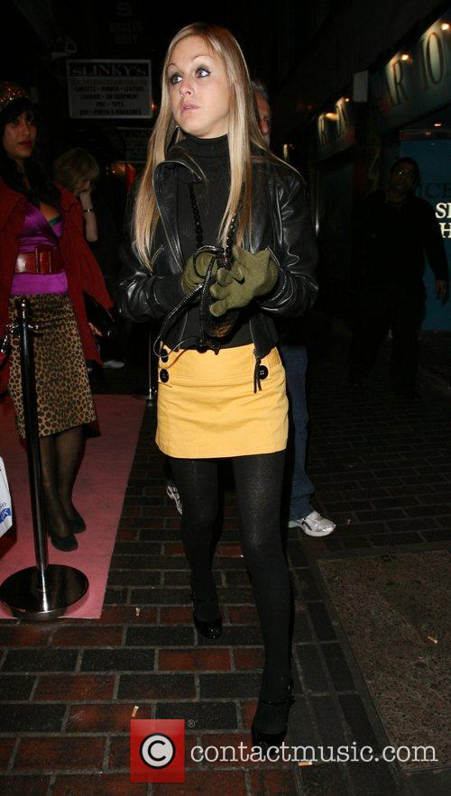 Nikki Grahame,  Charity fundraising party in aid...