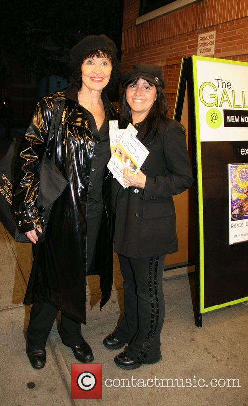 Chita Rivera and guest opening reception for 'Rosie...