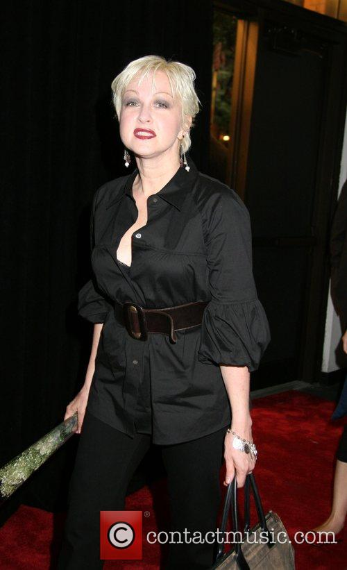 Cyndi Lauper opening reception for 'Rosie O'Donnell presents...
