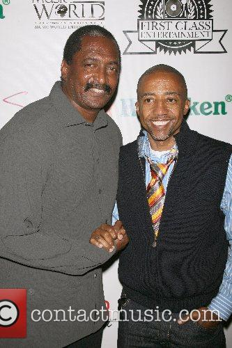 Matthew Knowles and Kevin Liles Music World Entertainment...