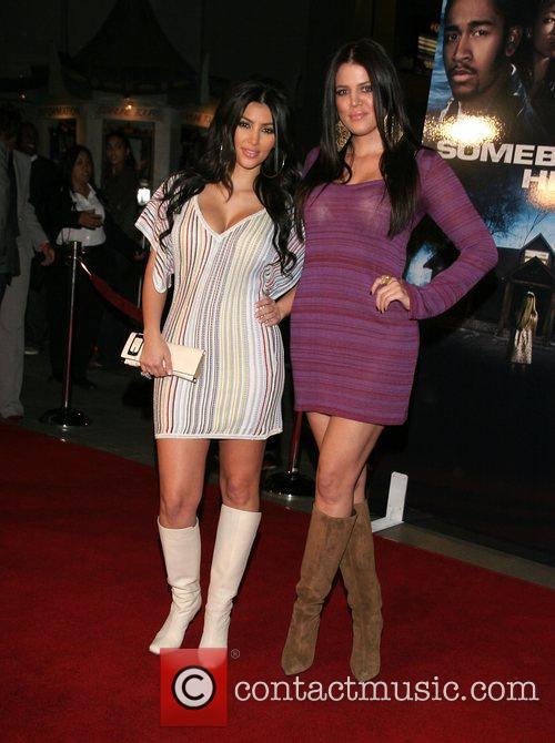 Kim Kardashian and Khloe Kardashian 6
