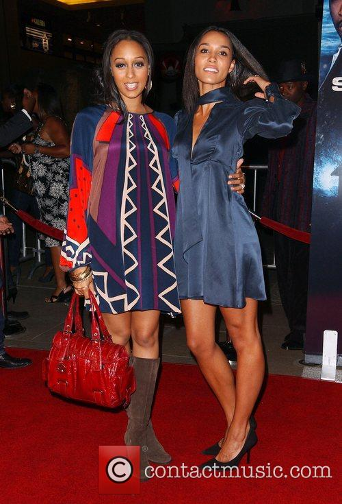 Tia Mowry and Brooklyn Sudano 'Somebody Help Me'...