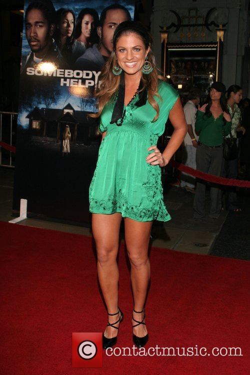 Bridgetta Tomarchio 'Somebody Help Me' world premiere at...