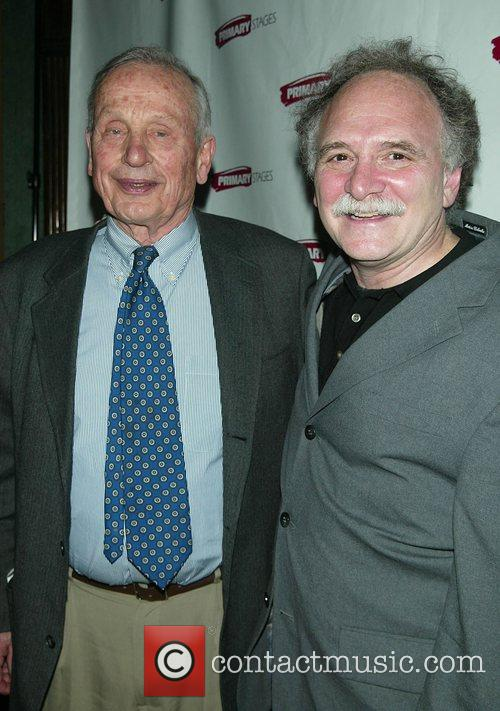 A.R. Gurney and Willy Holtzman Attending the Opening...