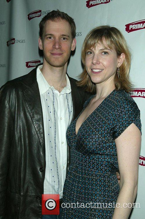 David Korins and Carolyn Cantor Attending the Opening...