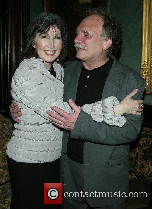 Joanna Gleason and Willy Holtzman Attending the Opening...