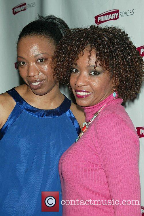 Portia and Adriane Lenox  Attending the Opening...