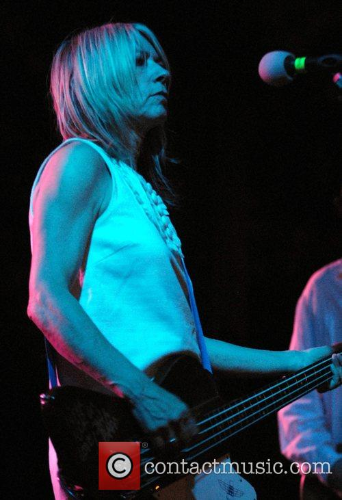Sonic Youth performing live at the Pitchfork Music...