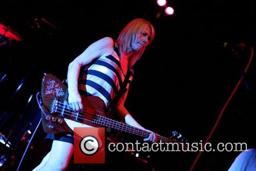 Kim Gordon  Sonic Youth performing at The...