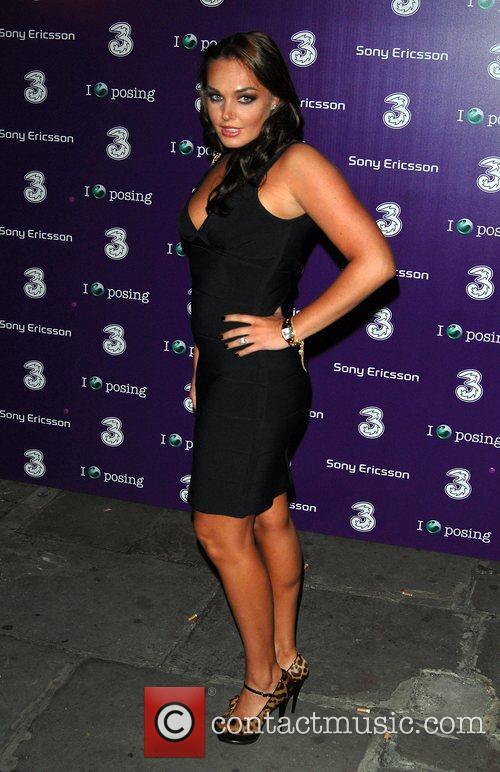 Tamara Ecclestone Sony Ericsson K770i phone - launch...