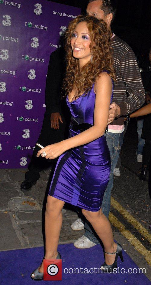 Amelle Berrabah of Sugababes Sony Ericsson K770i phone...