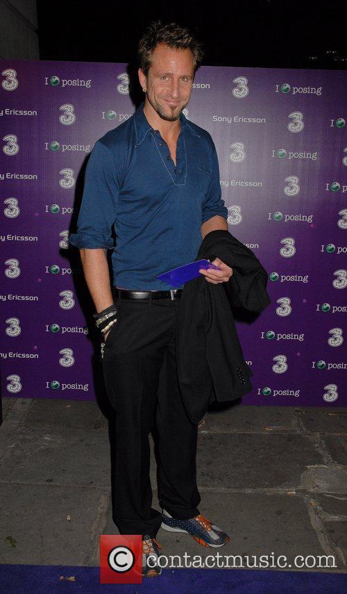 Jeremy Sheffield Sony Ericsson K770i phone - launch...