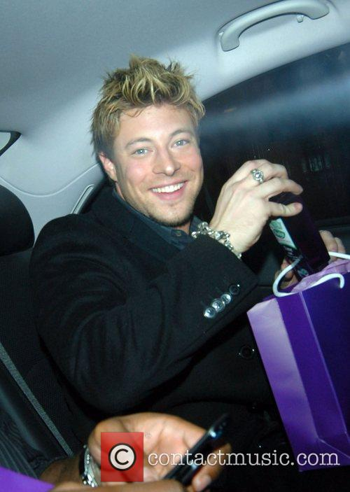 Duncan James Sony Ericsson K770i phone launch party...