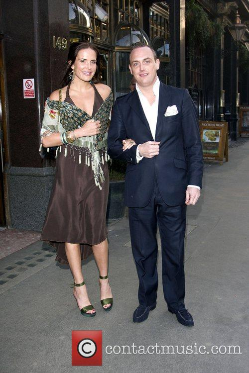 Sophie Anderton and Guest Launch party for the...
