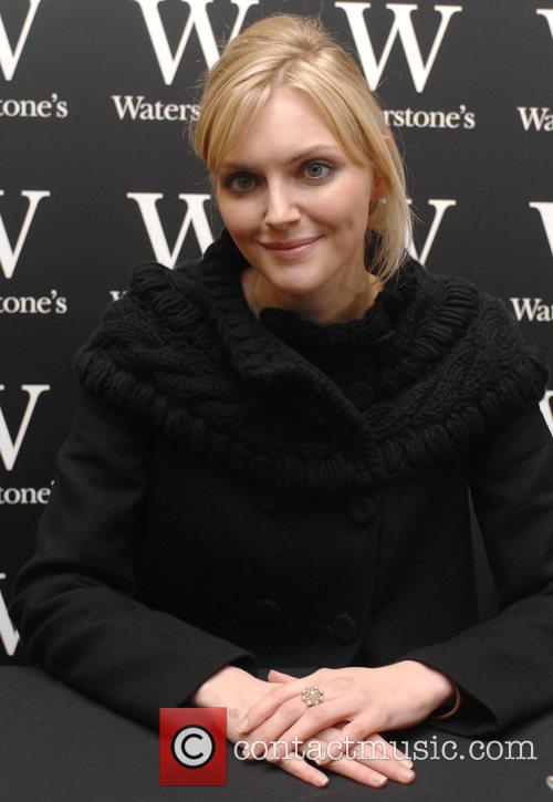 Sophie Dahl signs copies of her book 'Playing...