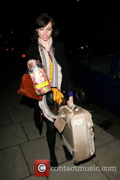 Arriving home after performing at G.A.Y.'s birthday party