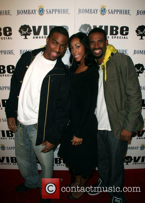 Guests VH1 'Soul and Vibe Awards' party at...