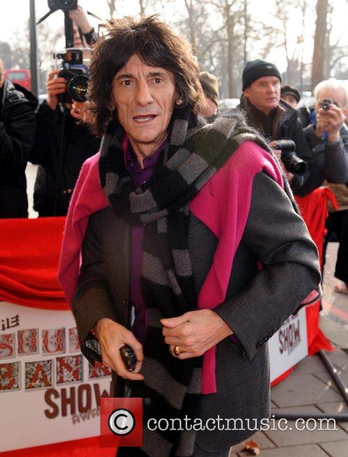 Ronnie Wood The South Bank Show Awards at...