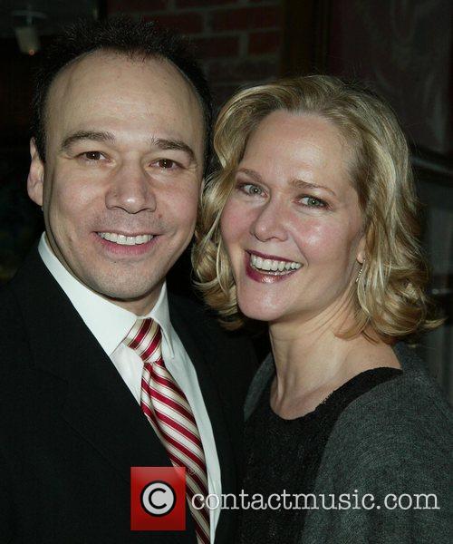 Danny Burstein and Rebecca Luker  Opening Night...