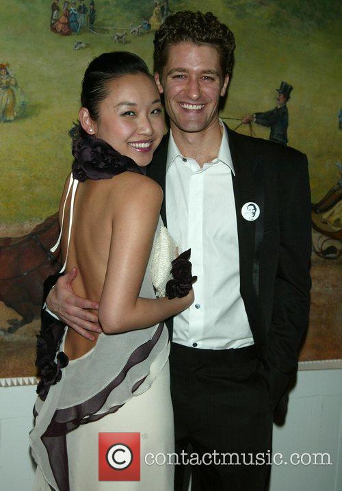 Li Jun Li and Matthew Morrison Opening Night...