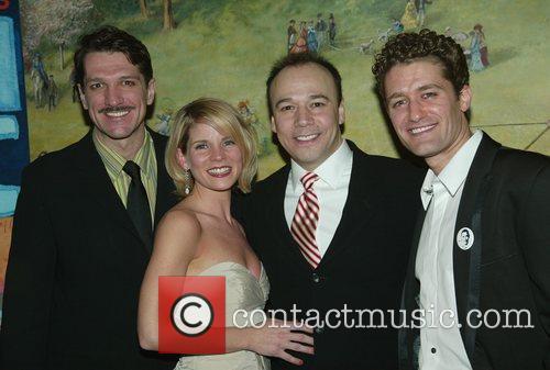 Paulo Szot, Kelli O'Hara, Danny Burstein and Bartlett...