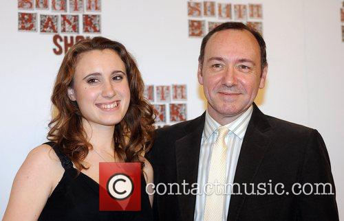 Jennifer Pike and Kevin Spacey The South Bank...