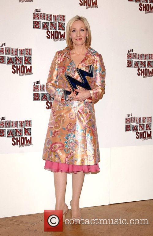 J K Rowling The South Bank Show Awards...
