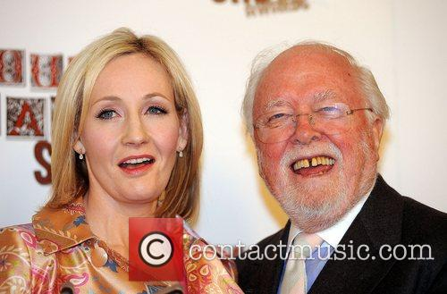 J K Rowling and Sir Richard Attenborough The...