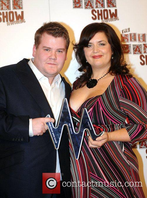 James Corden and Ruth Jones The South Bank...
