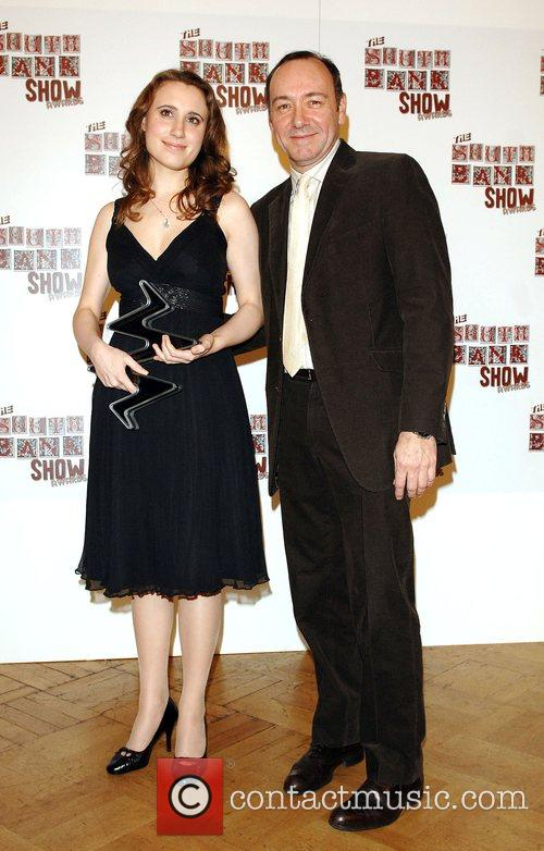 Kevin Spacey and Jennifer Pike The South Bank...