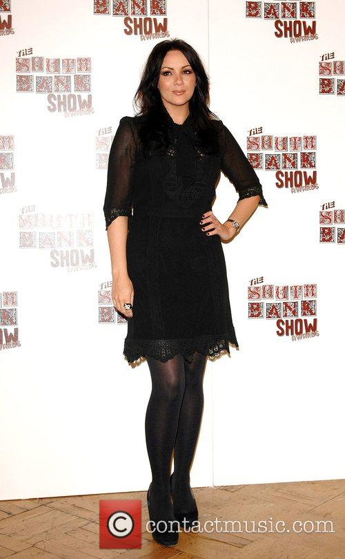 Martine McCutcheon The South Bank Show Awards at...