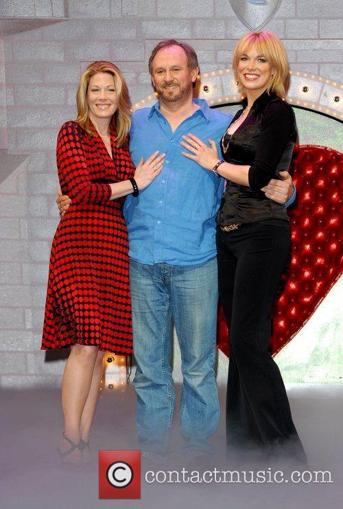 Marin Mazzie, Peter Davison and Hannah Waddingham 'Spamalot'...