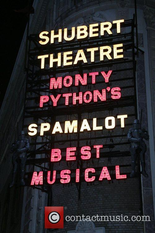 Monty Python, Spamalot Curtain Call, Broadway