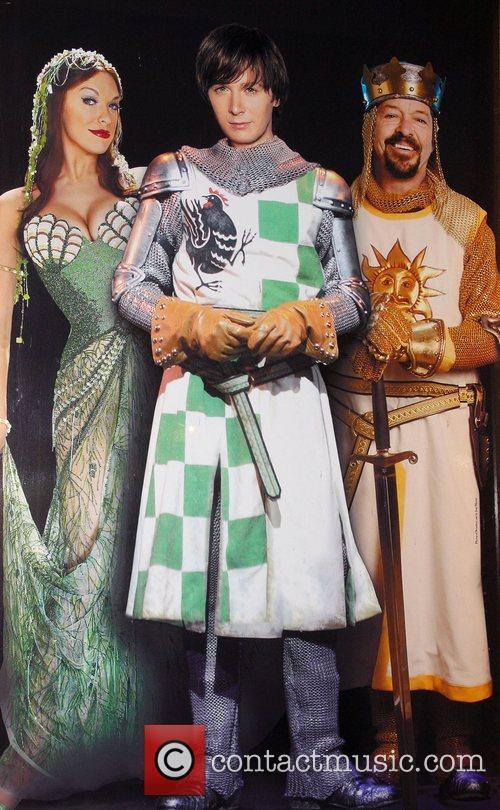 Clay Aiken, Jonathan Hadary, Hannah Waddingham (Spamalot Poster)...