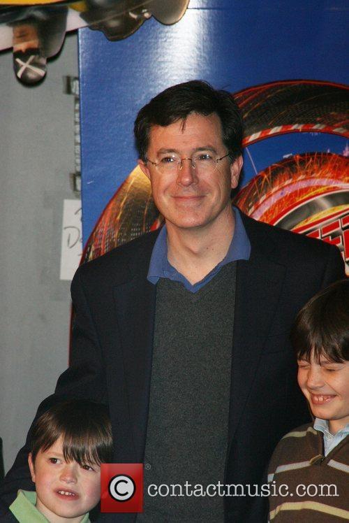 Stephen Colbert and Family Tribeca Film Festival 2008...