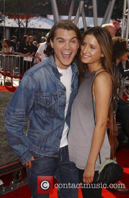 Emile Hirsch, Guest 'Speed Racer' premiere held at...