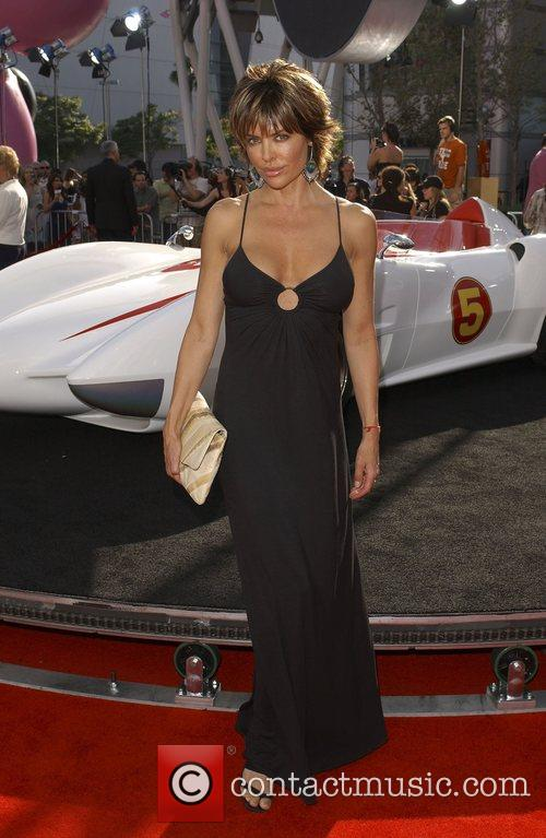 Lisa Rinna 'Speed Racer' premiere held at the...