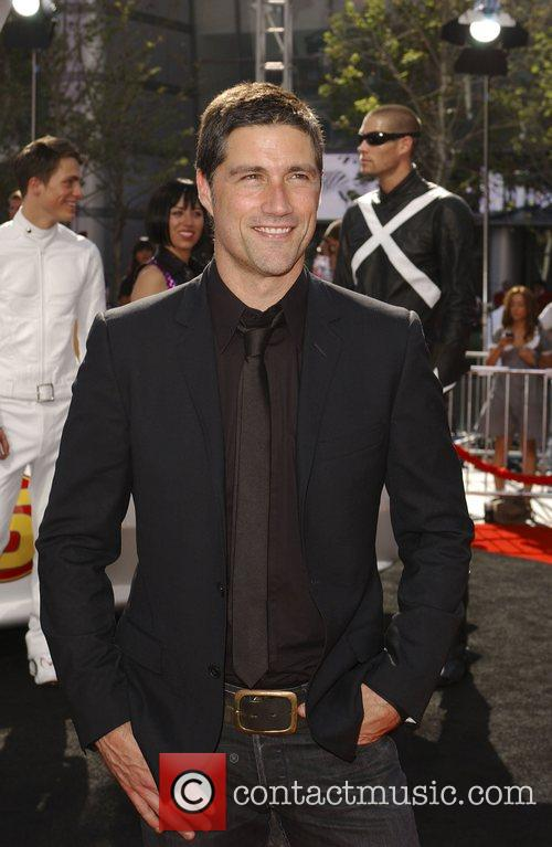 Matthew Fox 'Speed Racer' premiere held at the...