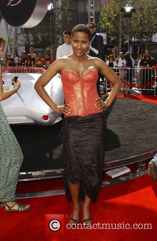 Nayo Wallace 'Speed Racer' premiere held at the...