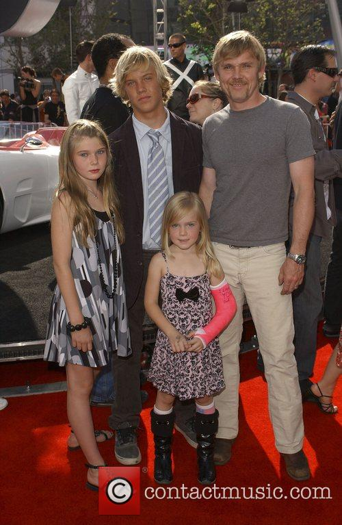 Rick Schroder & family 'Speed Racer' premiere held...