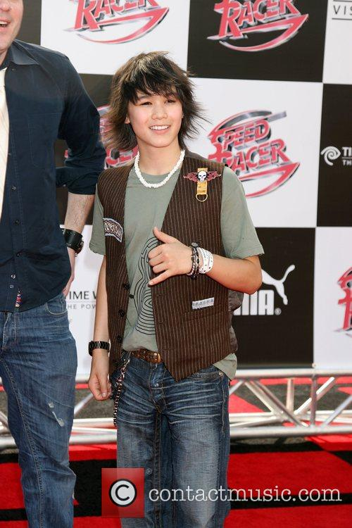 Boo Boo Stewart 'Speed Racer' premiere held at...