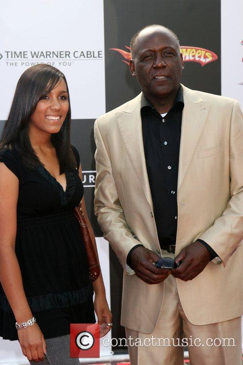 Richard Roundtree and Daughter 1