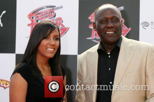 Richard Roundtree and Daughter 3