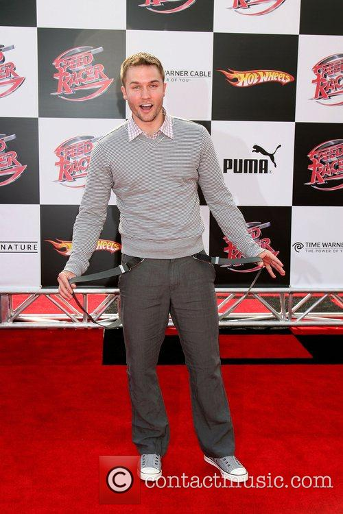 Scott Porter 'Speed Racer' premiere held at the...