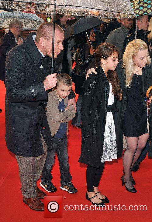 Guy Ritchie, Lourdes and Rocco UK Premiere of...