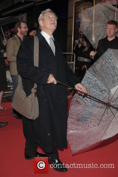 Sir Ian McKellen  UK Premiere of Speed...